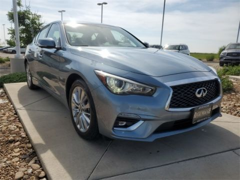 Certified Pre-Owned 2020 INFINITI Q50 3.0t LUXE