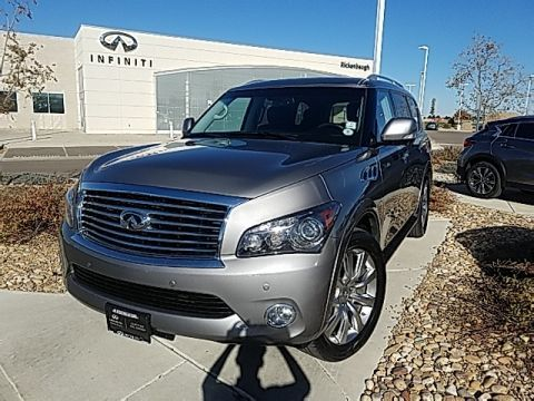 Certified Pre-Owned 2014 INFINITI QX80 Base